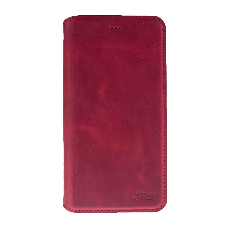 Antic Pan Book iPhone 7 Plus Leder Tasche mit Aufstellfunktion & Kartenfächern