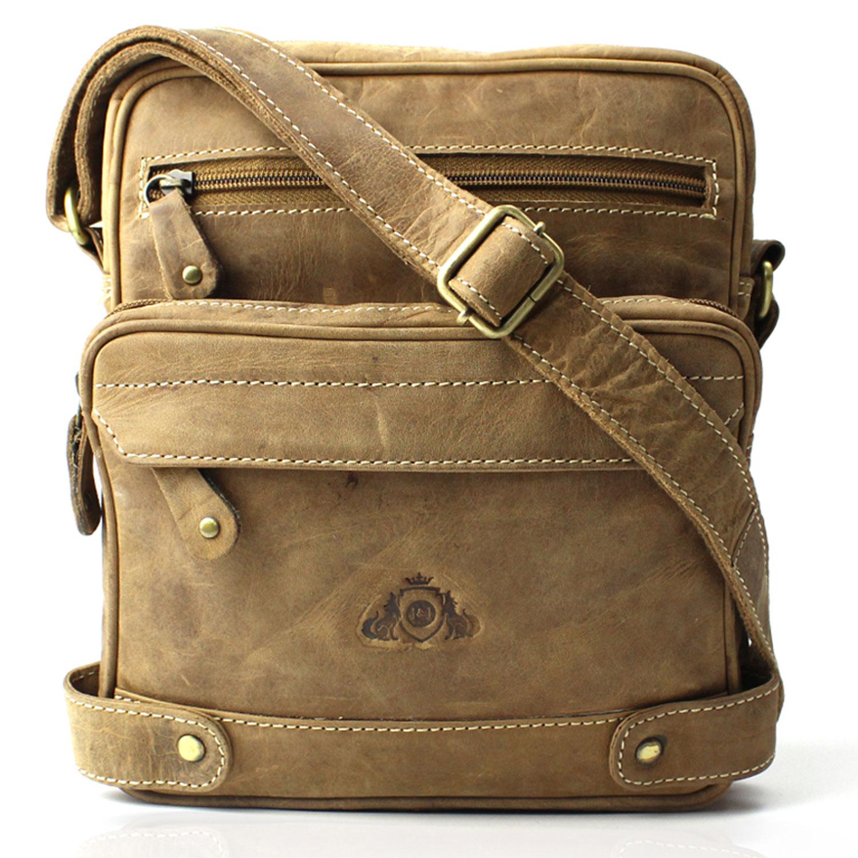 Jenes & Jandura Handgemachte Vintages Leder Handtasche
