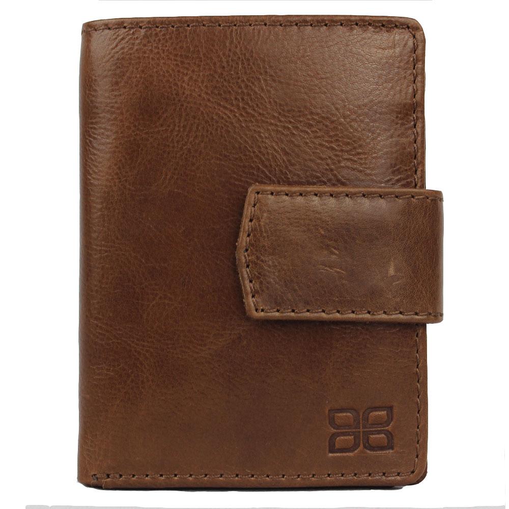 Jenes & Jandura Handgemachte Milano Leder Hochformat Brieftasche Unisex