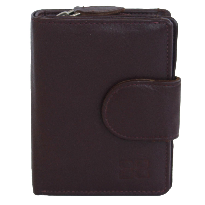 Jenes & Jandura Unisex Handgemachte Leder Brieftasche Hochformat